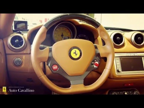 Ferrari California F1 DCT ・ Interiors