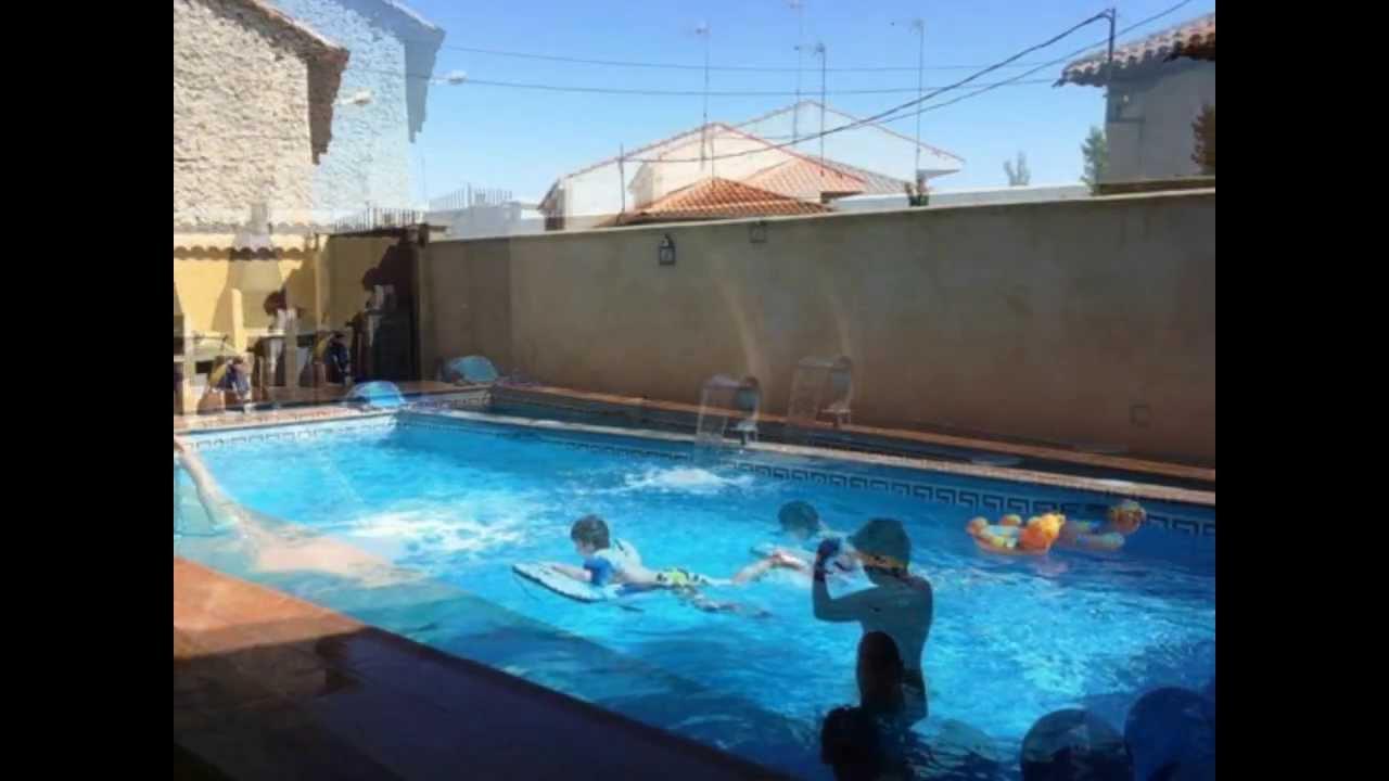 Pueblo cafeteria piscina casa rural via de la plata youtube for Casa rural mansion de la plata penacaballera