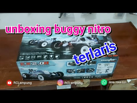 Review Dan Unboxing Caster Racing Zx2.0r 1:8 Nitro Buggy Rtr Rc Car | Indonesia