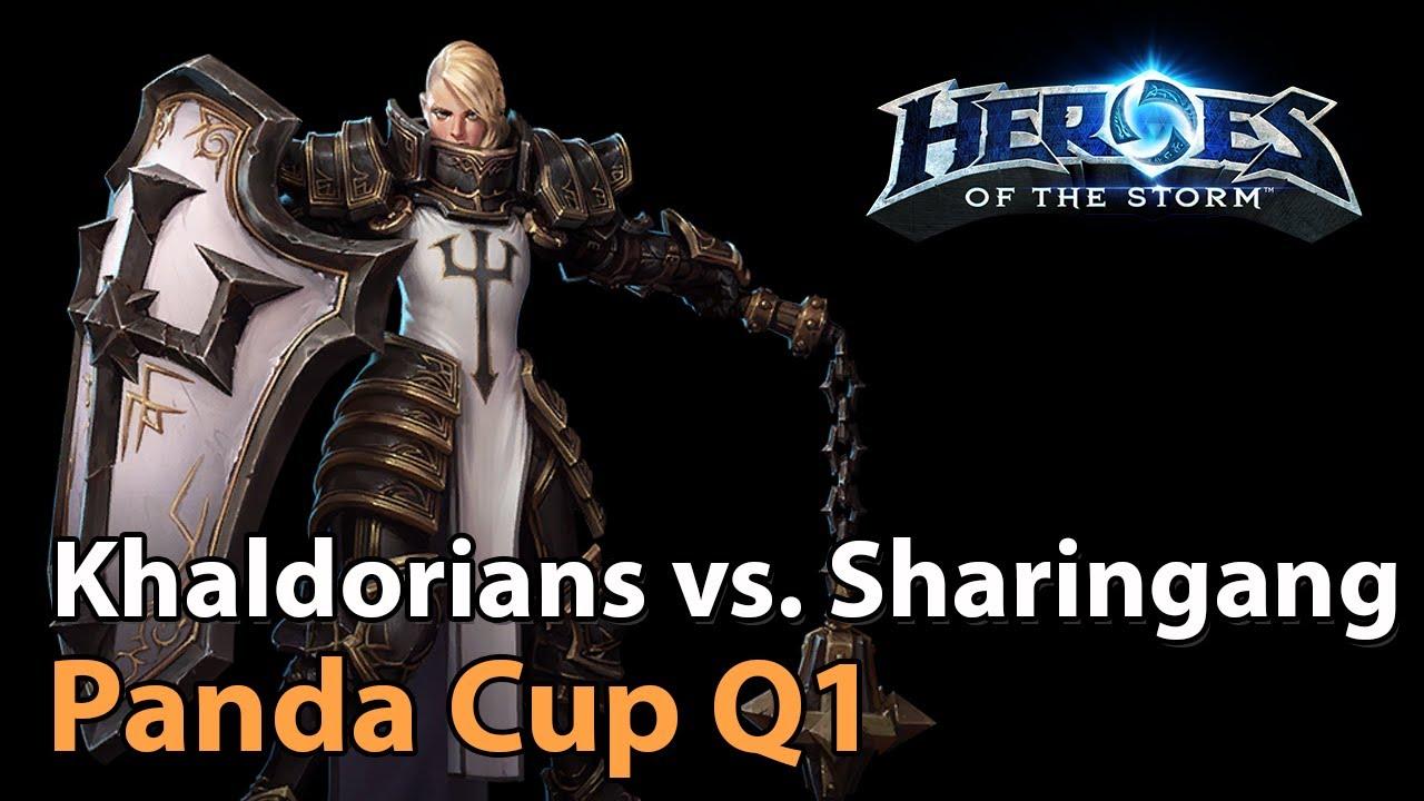 ► Khaldorians vs. Sharingang - Panda Cup Q1 - Heroes of the Storm Esports