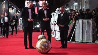 Премьеру «Звёздных войн» посетили британские принцы (новости)