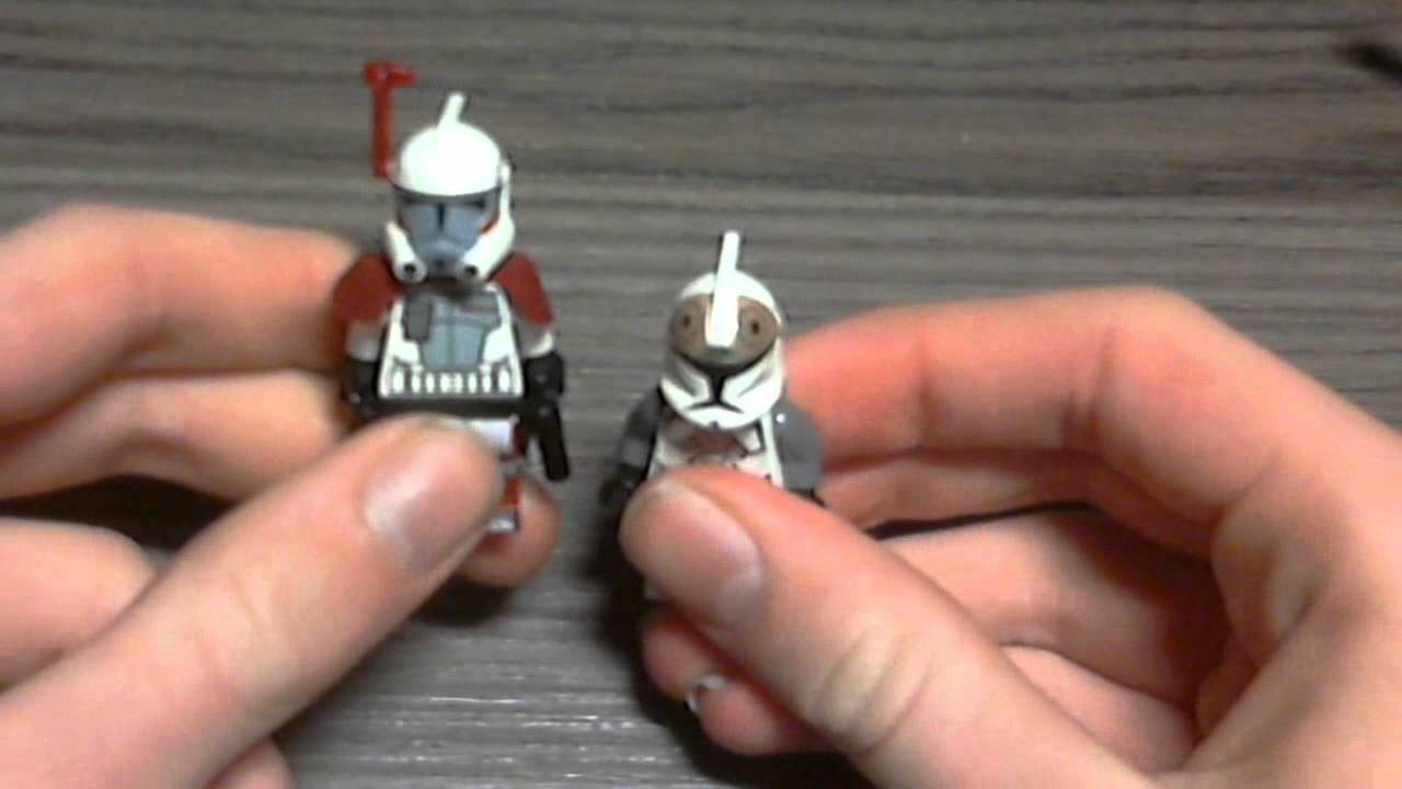 lego star wars rexupdate 5  youtube