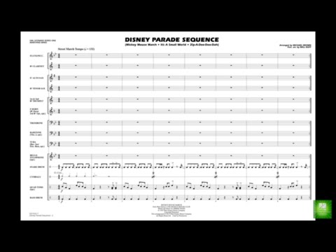 Disney Parade Sequence arr. Michael Brown & Will Rapp