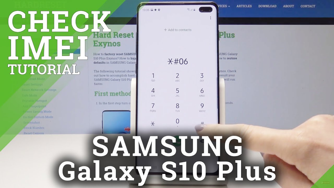 How to Check IMEI in Samsung Galaxy S10 Plus – Locate IMEI Number