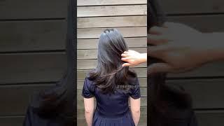 손질 편한 긴머리 허쉬…