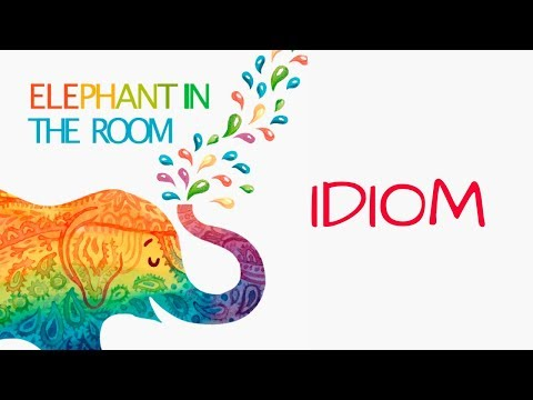Elephant In The Room Meaning [idiom]