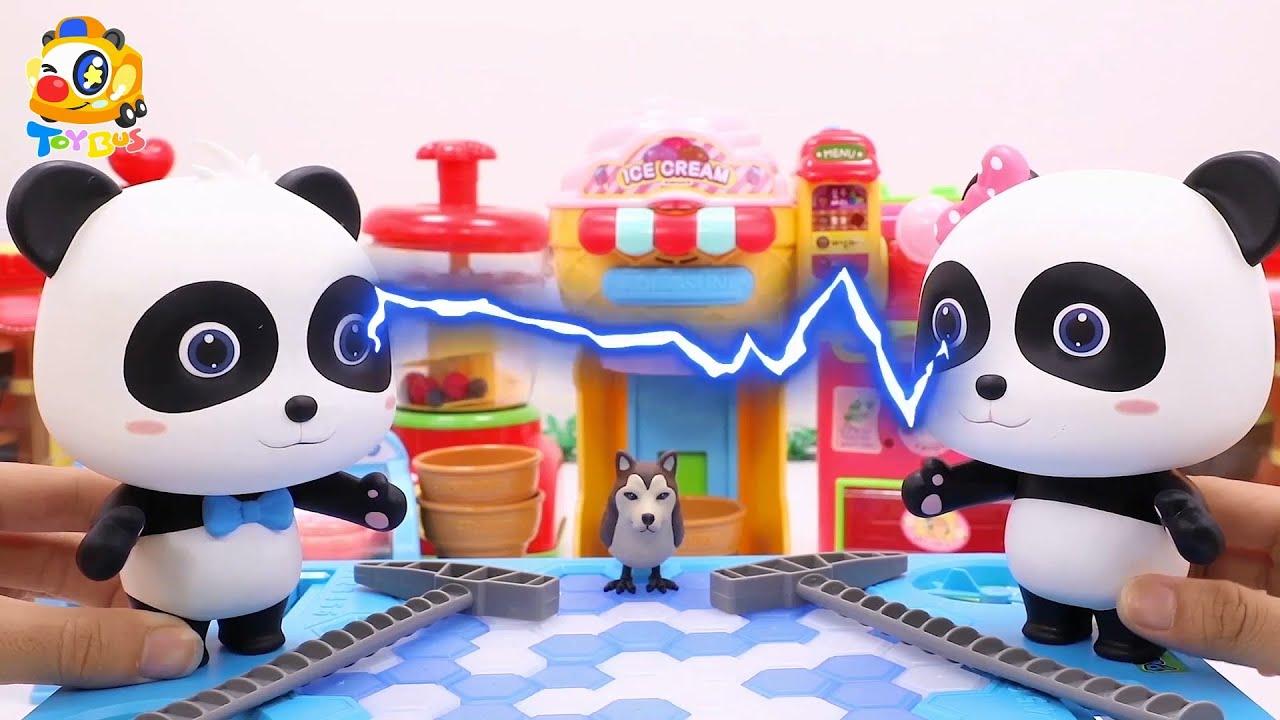 奇奇VS妙妙 敲冰塊大對決 | 寶寶玩具 | 兒童玩具 | 玩具巴士