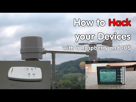 How to Hack your 433 MHz Devices with a Raspberry and a RTL-SDR Dongle (Weather Station)