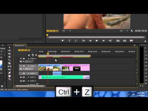 Adobe Premiere Pro CS6 - Basic Editing Introduction Tutorial 2
