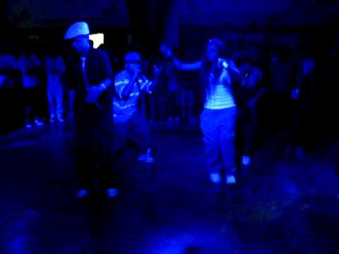 """Party hiphop underground """"SD in the town"""" - Rock witits hortver - SD Record."""