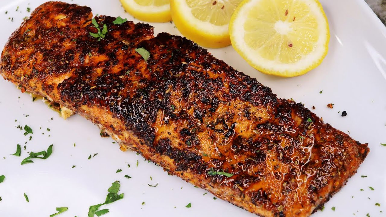 Crispy Pan-Seared Salmon Recipe | Quick and Easy Salmon Recipe
