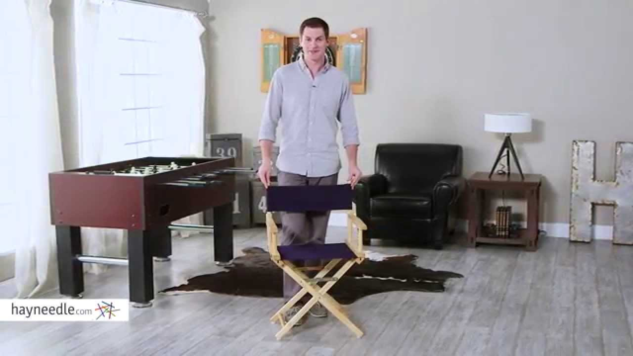 Newport Canvas Directors Chair Cover Set   Product Review Video   YouTube