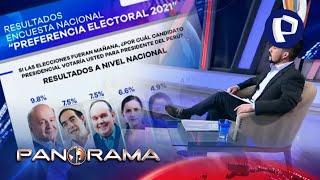 Escucha al Perú: cuatro candidatos se pelearían por el pase a la segunda vuelta, según encuesta