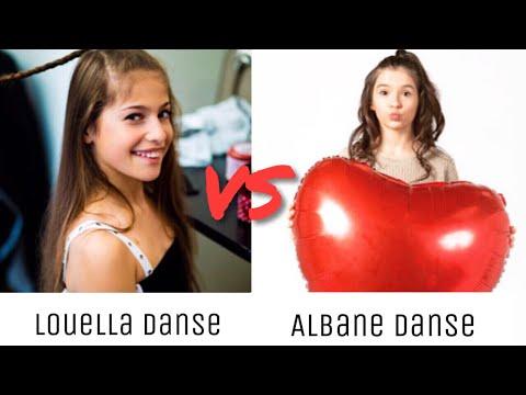 Louella Danse VS Albane Danse ~ Musical.ly Battle ♡