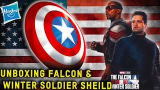 #hasbro #captainamerica #falcontoday zavvi will be unboxing the marvel legends captain america shield, featuring in upcoming falcon and winter soldie...