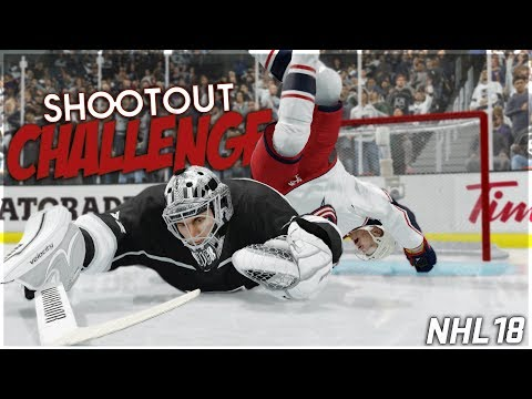 NHL 18 SHOOTOUT CHALLENGE #20 *WIN STREAK EDITION*