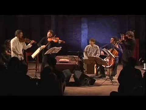 "Brooklyn Rider perform ""Ascending Bird"" at the Brooklyn Lyceum"