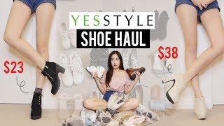 YESSTYLE SHOE HAUL Try-on! Was it worth it?