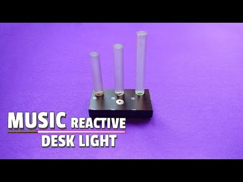 How To Make DIY Music Reactive LED Strip..Wireless Music Reactive Lamp..