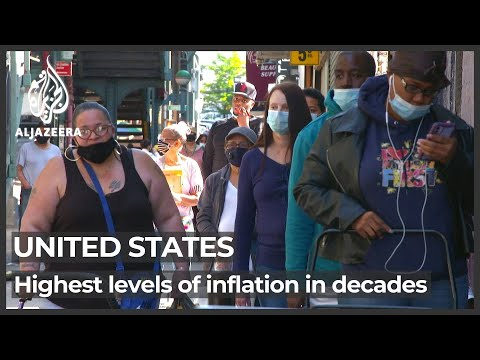 US inflation: Highest levels in decades hit working Americans