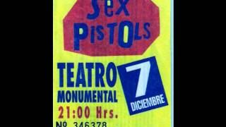 Sex Pistols - No Feelings, Retransmisión Chile 1996 + fin de transmisión.