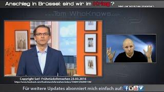 +++ Anschläge in Brüssel. Sind wir im KRIEG? Laut Medien JA! +++