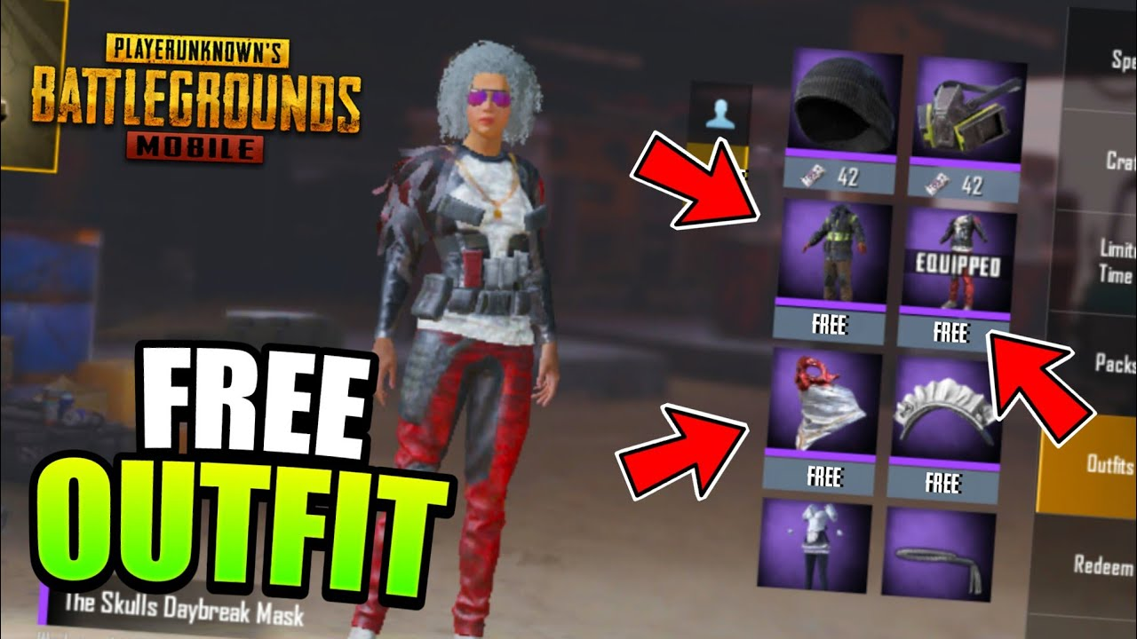 How To Get Free Amazing Clothes In PUBG Mobile - 2019 | Free Outfit PUBG