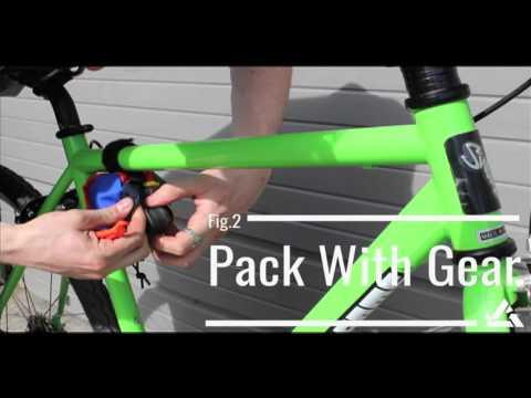 Green Guru Clincher Frame Bike Bag