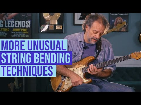 More on incorporating various bending techniques into your lines with Andy Aledort