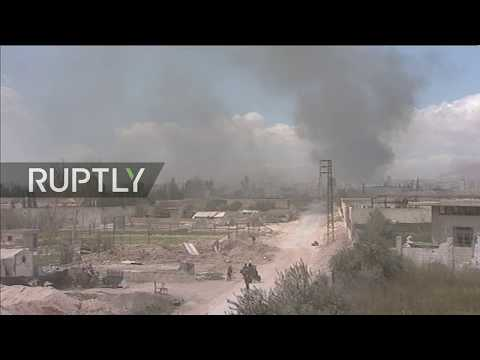 Live from humanitarian corridor in Eastern Ghouta