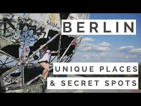 BERLIN! UNIQUE PLACES AND SECRET SPOTS!