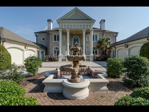 Million Dollar Luxury Golf Course Home Atlanta 2008