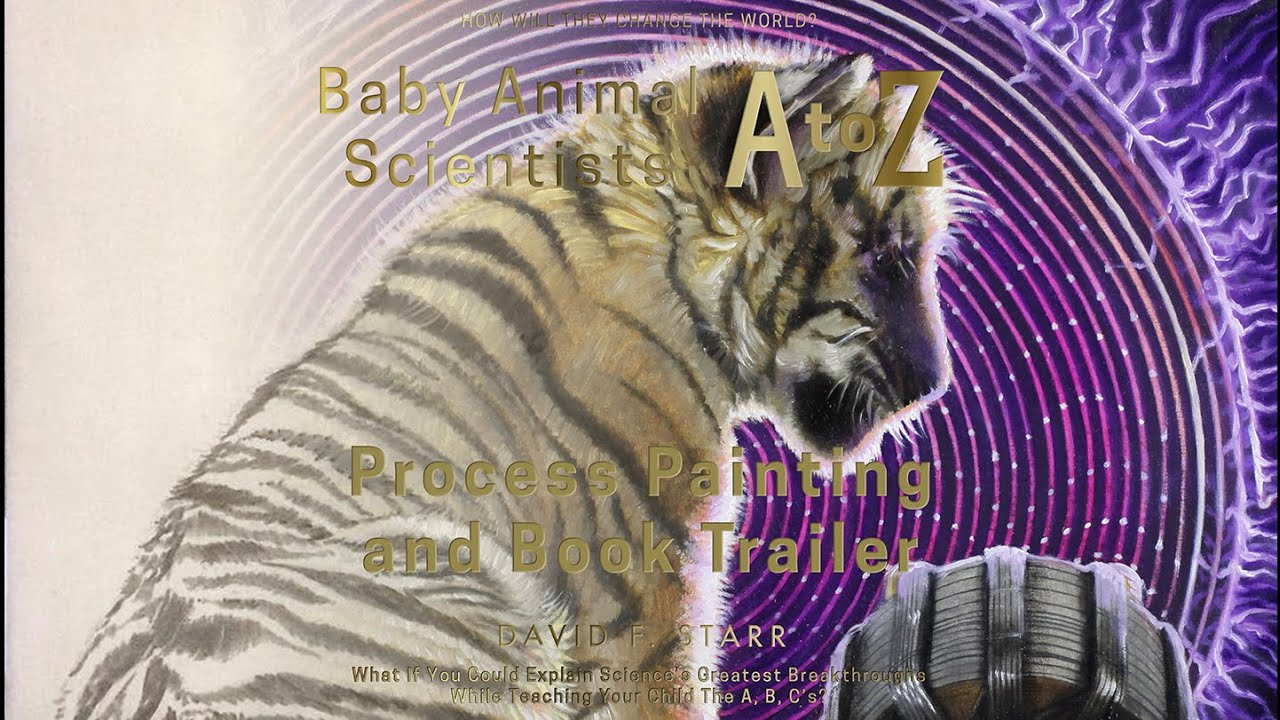Tesla the Tiger,  Baby Animal Scientists A to Z