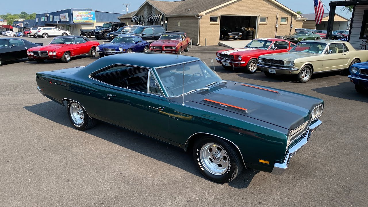 Test Drive 1969 Plymouth Road Runner $37,900 Maple Motors #1212