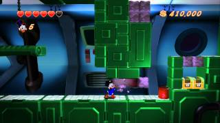 DuckTales Remastered Walkthrough Part 6 - The Moon - Finding the Green Cheese of Longevity
