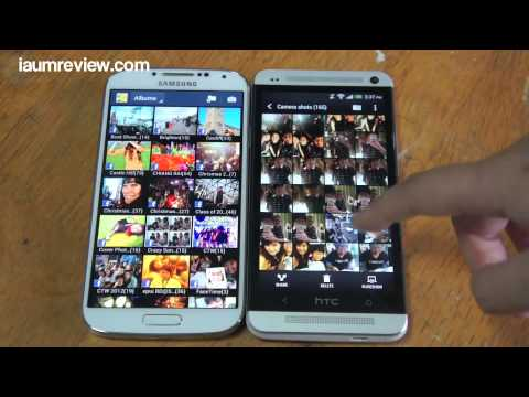 รีวิว Galaxy S4 แบบไทยไทย : EP3 : Galaxy S4 VS HTC ONE