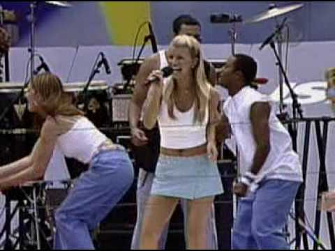 Jessica Simpson - I Think I'm in Love with You live Arthur Ashe