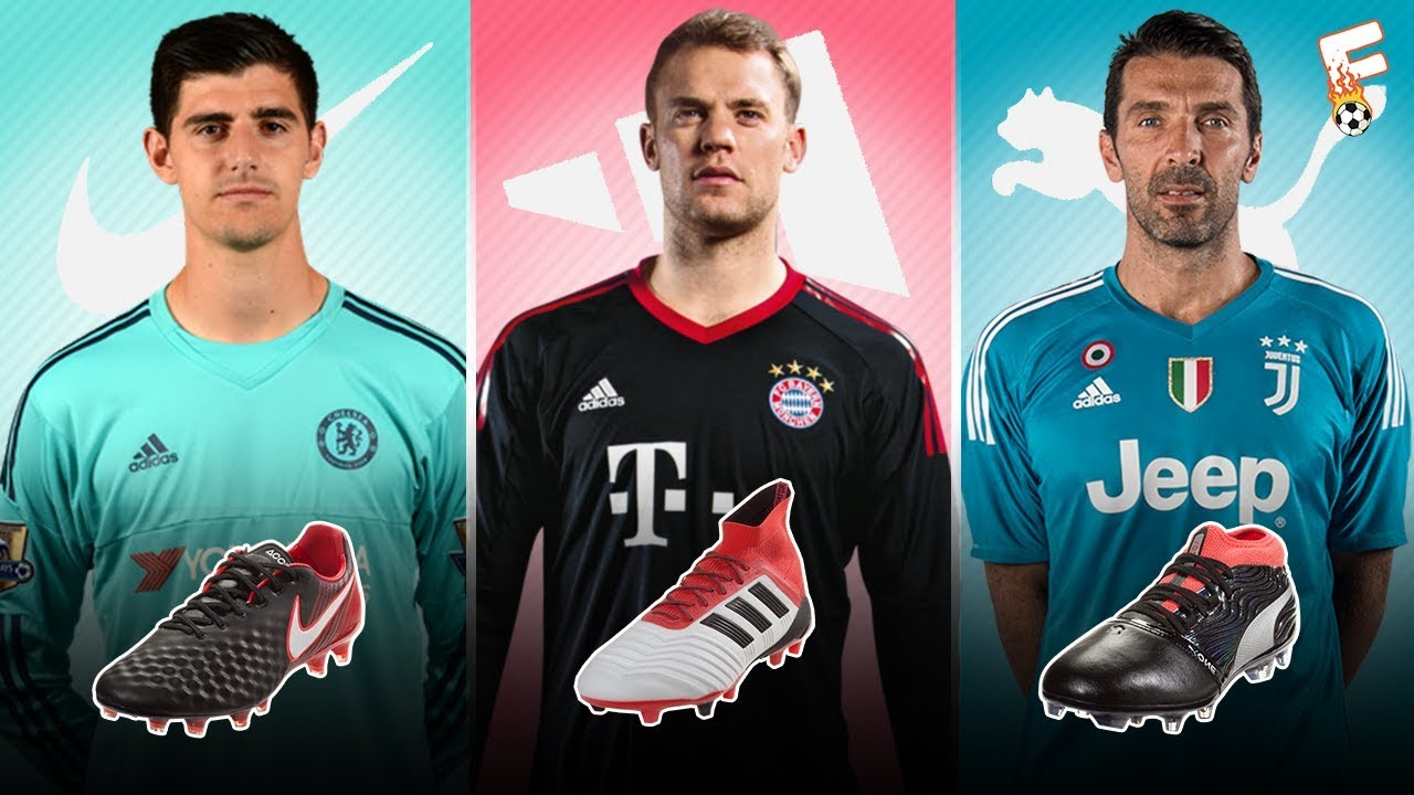 Top 30 Goalkeeper And Their Boots 2018