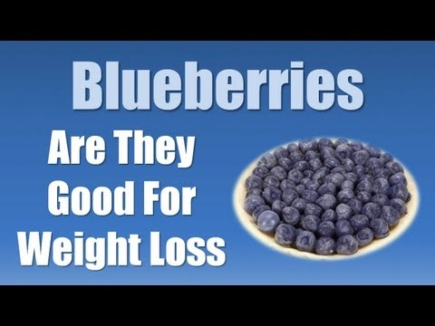 Best Foods for Weight Loss - Blueberries for Weight Loss