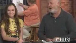 """Madeline Carroll & Rob Reiner Discuss """"Flipped"""""""