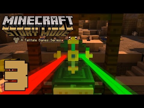 """Minecraft: Story Mode  """"The Order of the Stone"""" (#3) - THE TEMPLE!!! 