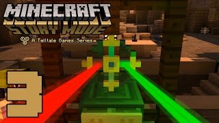 "Minecraft: Story Mode  ""The Order of the Stone"" (#3) - THE TEMPLE!!! 