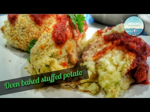 Sage & Onion Stuffed Potato   Whole Food Plant-based