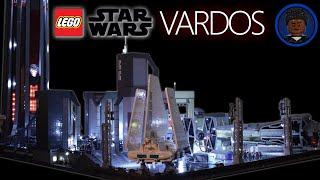 HUGE LEGO Star Wars Battlefront 2 Vardos MOC (LOTS OF LIGHTS)