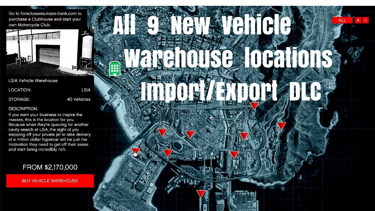 gta v best vehicle warehouse