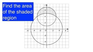 Grade 9 Questions | How to find the area of a segment