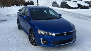 2017 Mitsubishi Lancer Limited Edition | Octane Blue Pearl | Edmonton AB | AE11443 | Crosstown Dodge