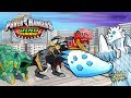 Power Rangers Dino Charge Rumble HD | Battle ICE AGE and his monster army By StoryToys Entertainment