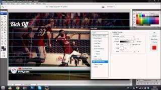 SpeedART | FIFA 13 Menu Mockup