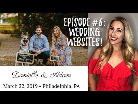 WEDDING WEBSITES! | Wedding Wednesday Episode #6